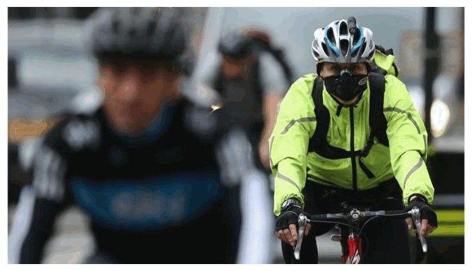 maska przeciwpyłowa na rower